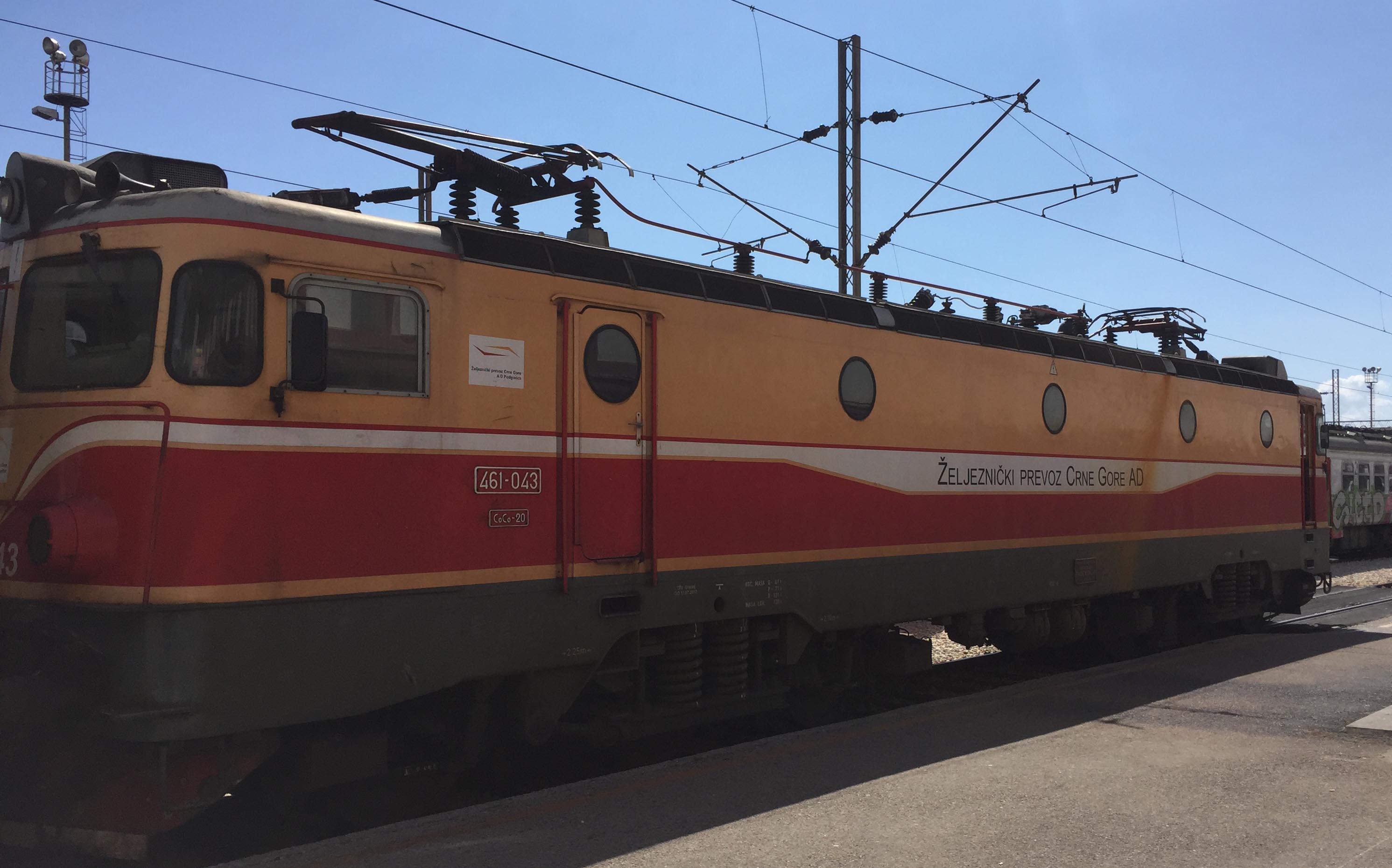 Bahnstrecke Belgrad–Bar
