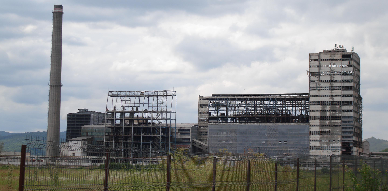 Natriumcarbonat-Fabrik der Firma USG, Râmnicu Vâlcea